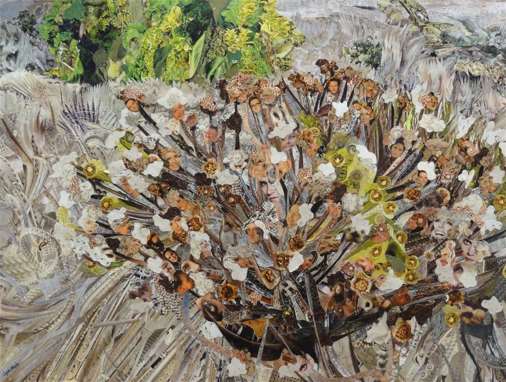 """Weathering the Drought"" original fine art by Cynthia Frigon"