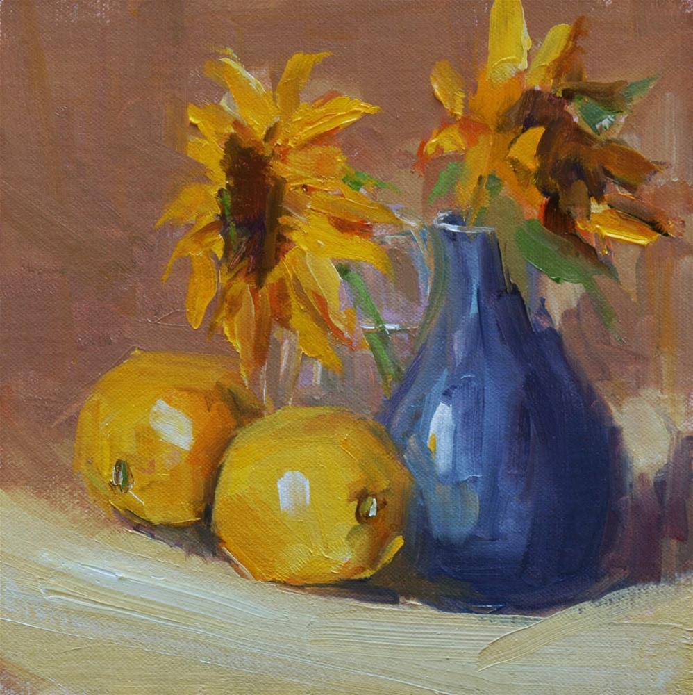 """""""two"""" original fine art by Carol Carmichael"""