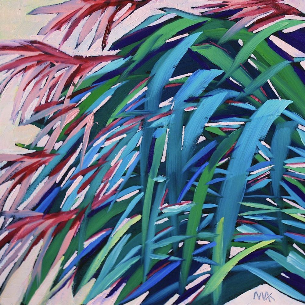 """Garden Grass 2"" original fine art by Mary Anne Cary"