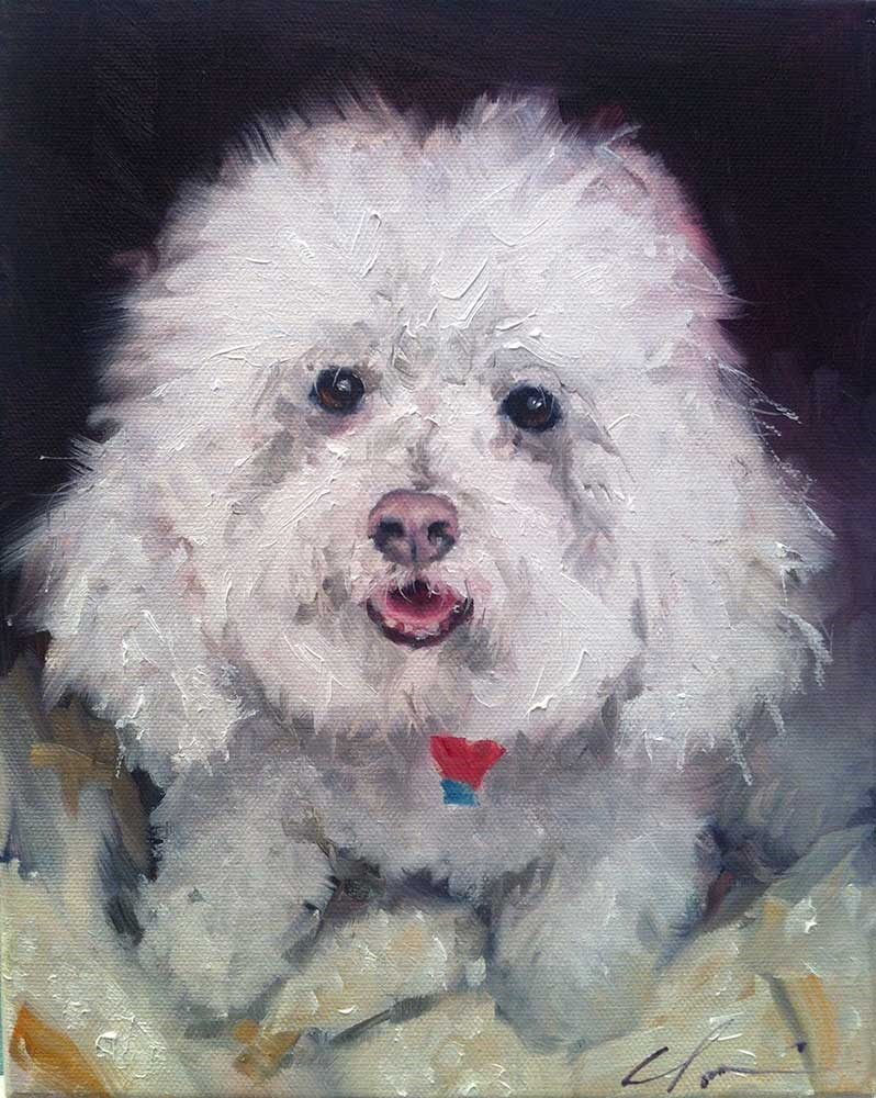 """The Daily Dog - Twenty Seven"" original fine art by Clair Hartmann"
