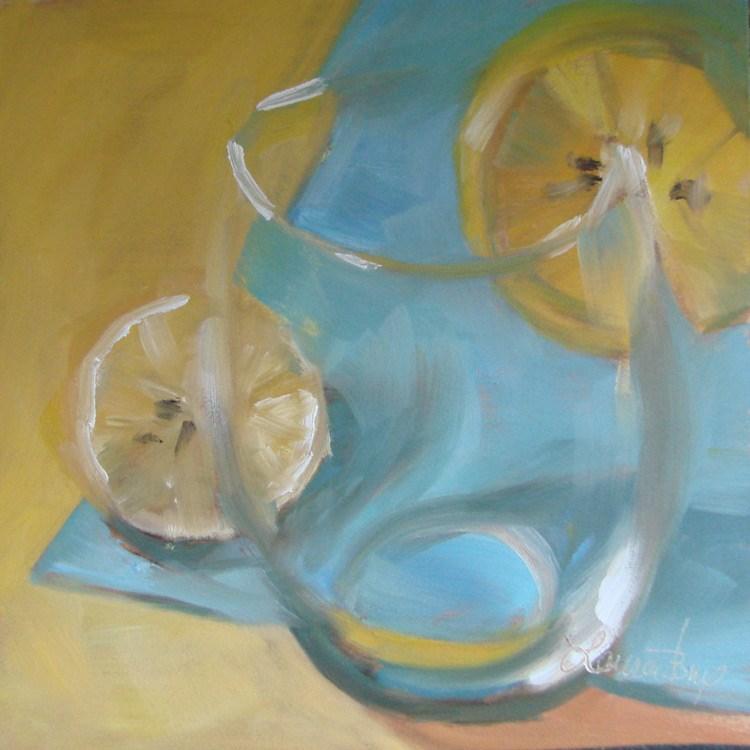 """Where's the Juice? 457"" original fine art by Laura  Buxo"