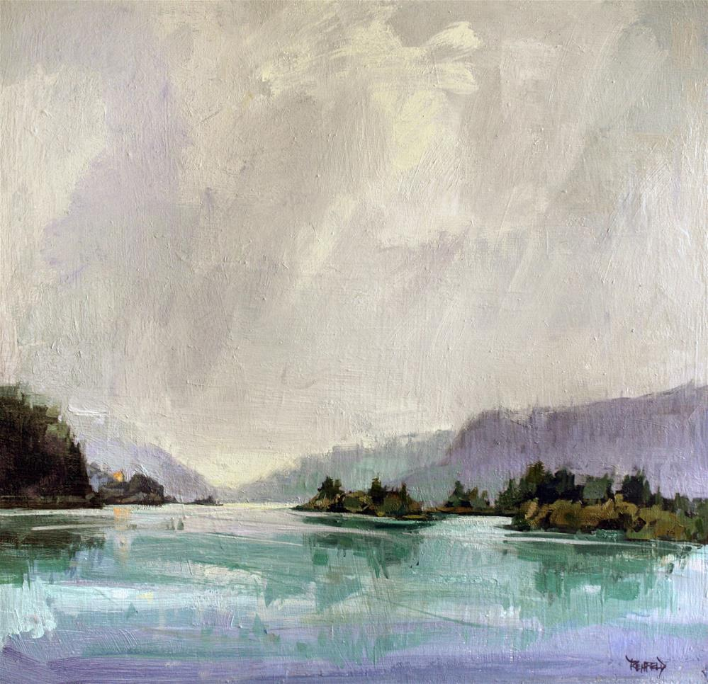 """Columbia Gorge"" original fine art by Cathleen Rehfeld"