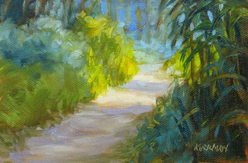 """Park Trail #35"" original fine art by Rita Kirkman"