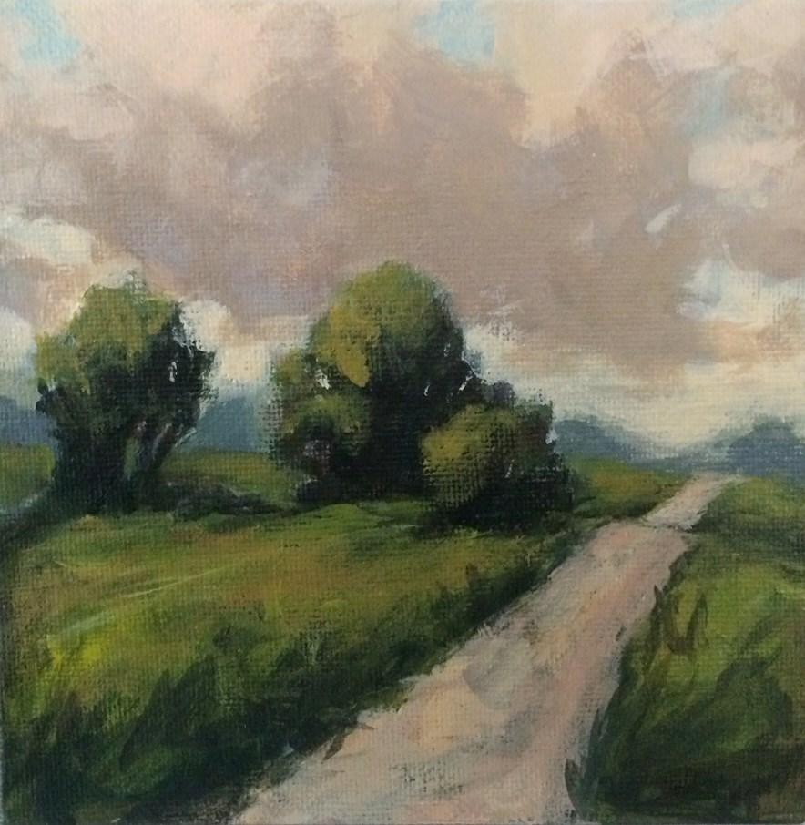 """Story Road"" original fine art by Shannon Bauer"