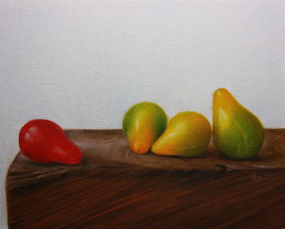 """Mixed Tomatoes"" original fine art by Jonathan Aller"