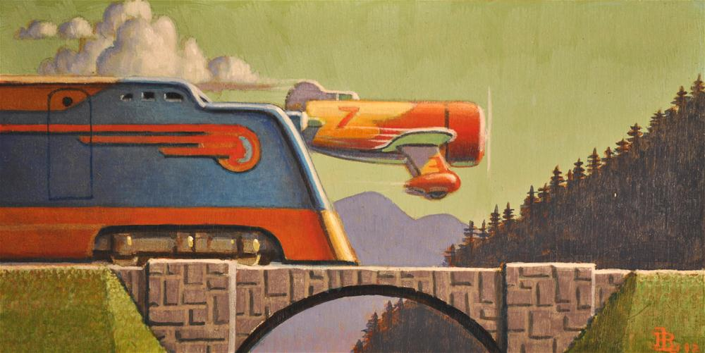 """Speed"" original fine art by Robert LaDuke"