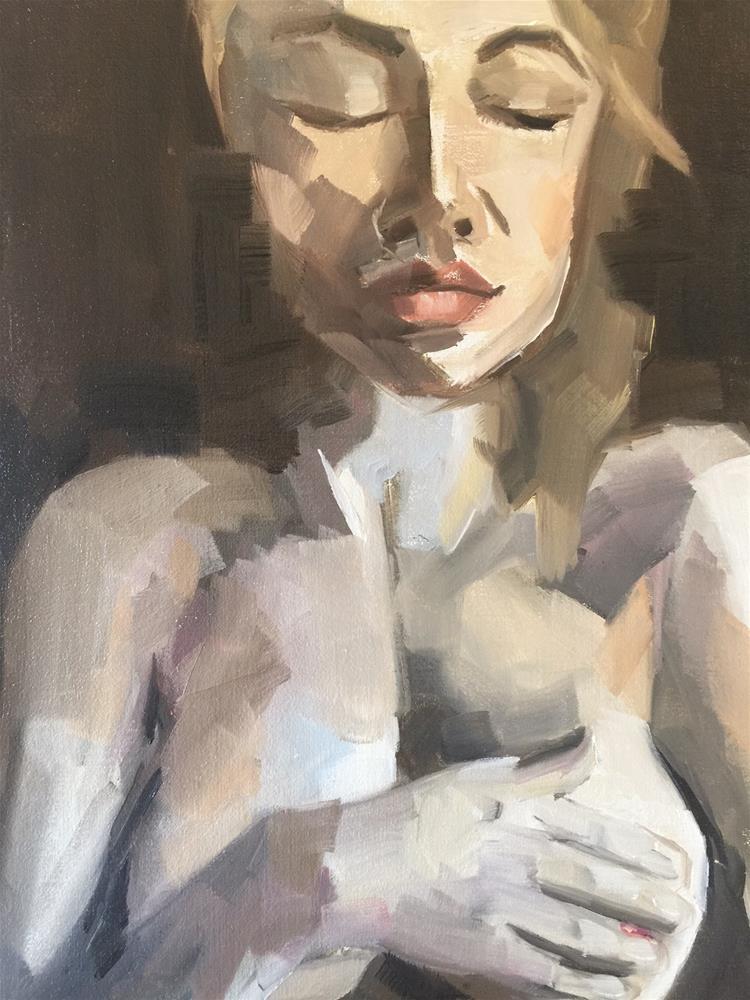 """368 Face and Figure"" original fine art by Jenny Doh"