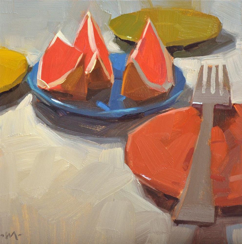 """Adrift"" original fine art by Carol Marine"