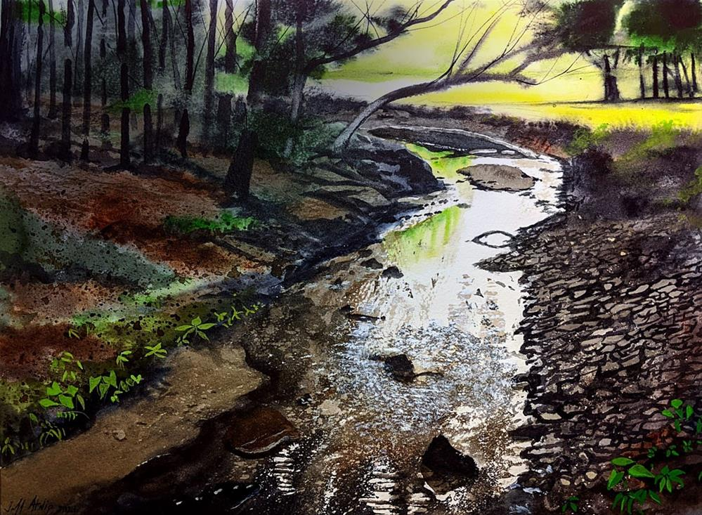 """Hidden Stream"" original fine art by Jeff Atnip"