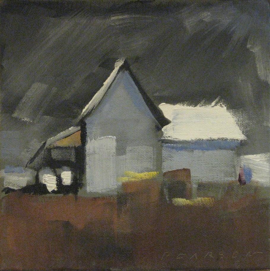 """Bright Roof"" original fine art by Dennis Pearson"