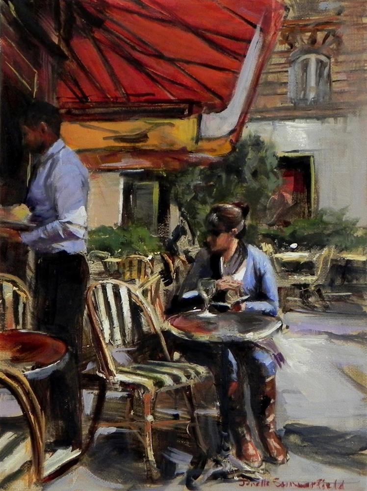 """Where's My Order?"" original fine art by Jonelle Summerfield"