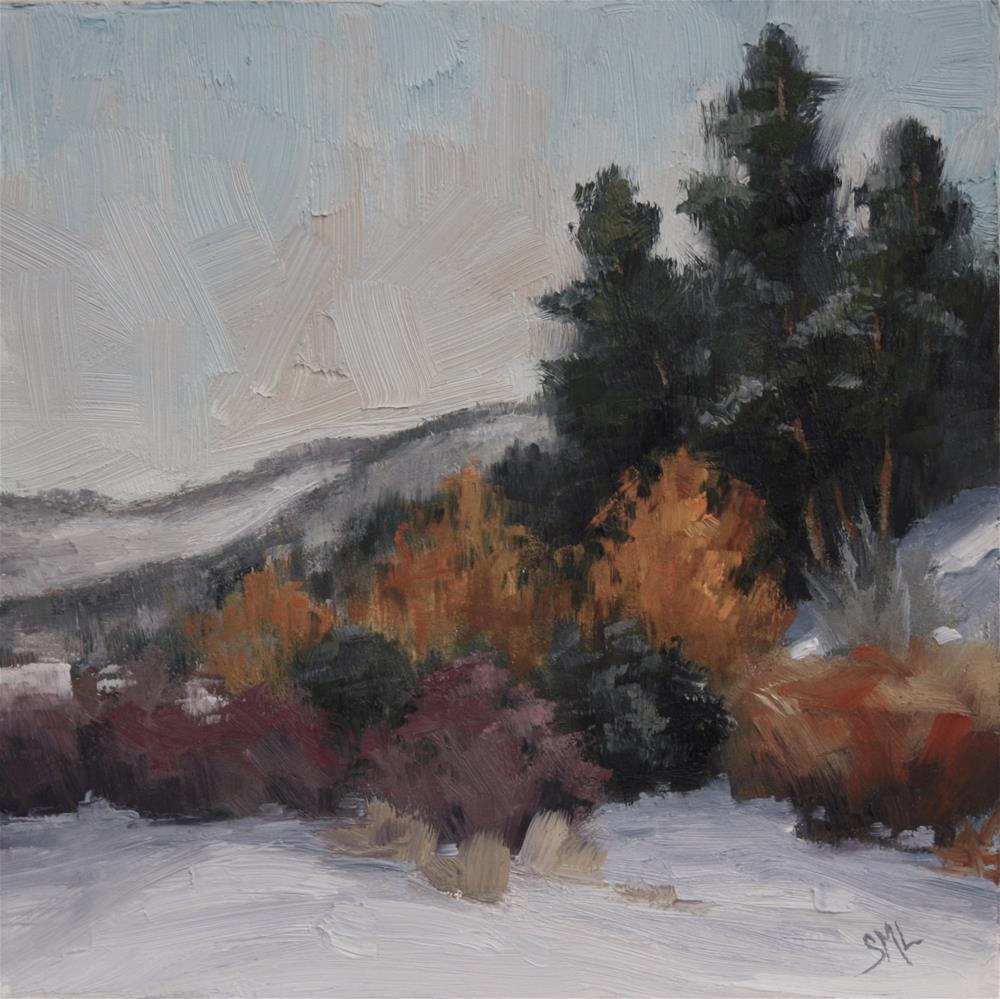 """Close to Tiny Town"" original fine art by Sheila Marie"