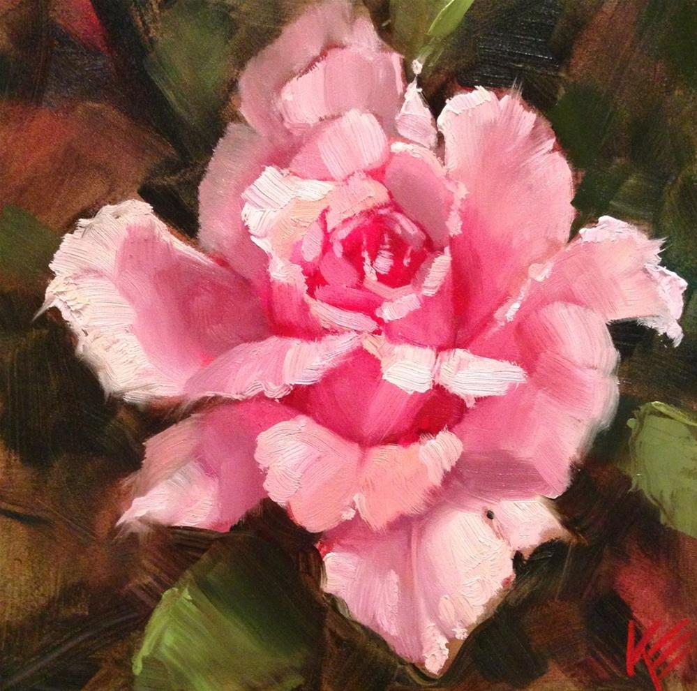 """Rose"" original fine art by Krista Eaton"