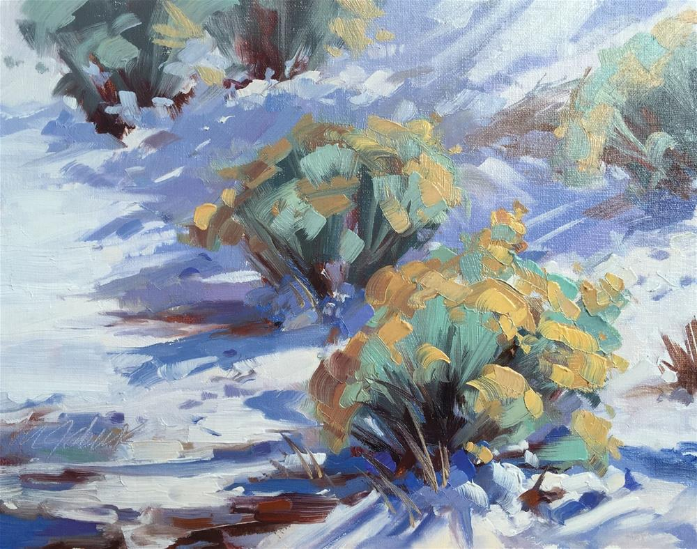 """""""Afternoon Sage"""" original fine art by Mary Jabens"""