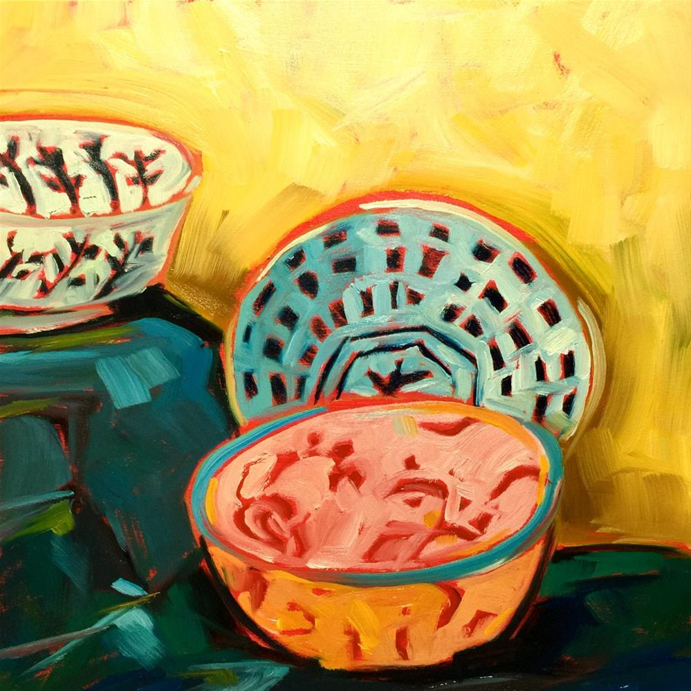 """0439: Bowl Study in Oils"" original fine art by Brian Miller"