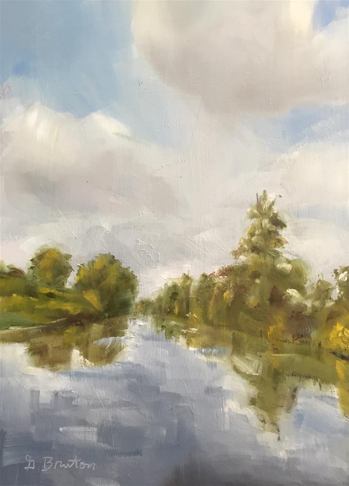 """River"" original fine art by Gary Bruton"