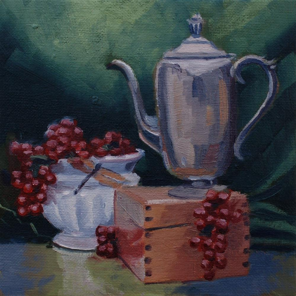"""Still Life at Suzy's"" original fine art by Susan McManamen"