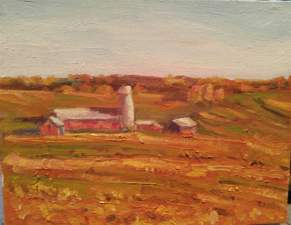 """""""Todd's Place"""" original fine art by angela scully"""