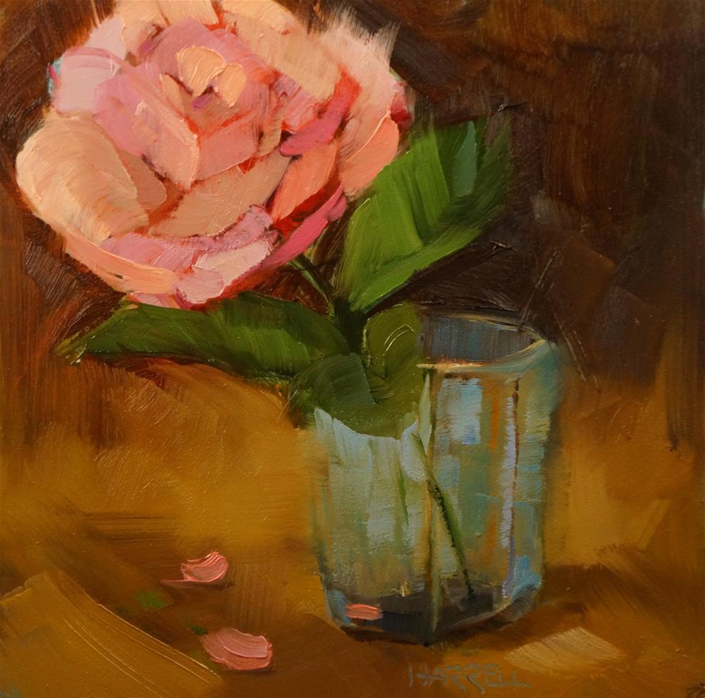 """Swinging Single"" original fine art by Sue Harrell"