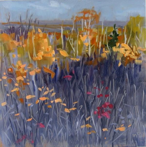 """Fall Tangle"" original fine art by Nicki Ault"