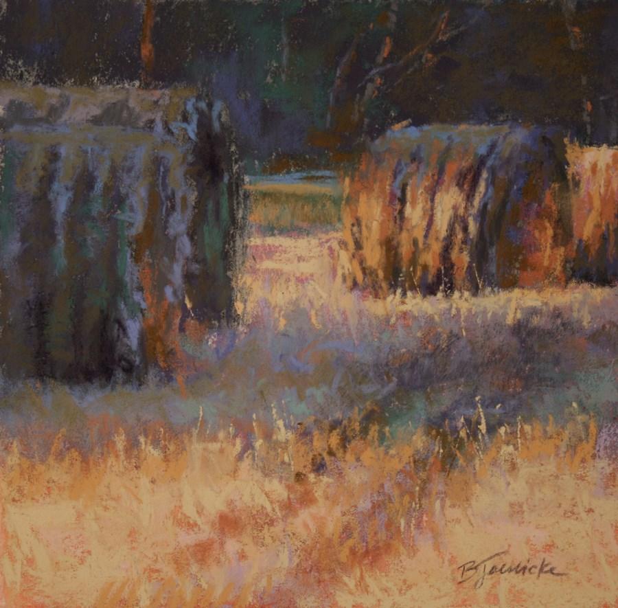"""Lining Up"" original fine art by Barbara Jaenicke"