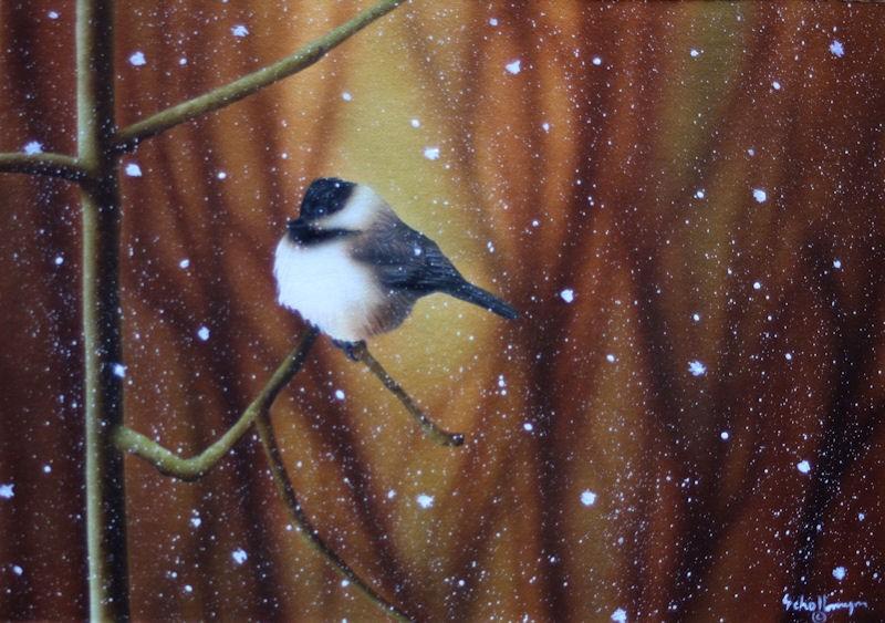 """Baton Down the Hatches"" original fine art by Fred Schollmeyer"