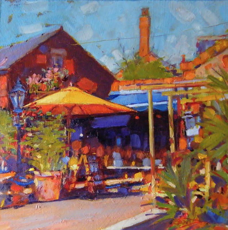"""The Old Post Office-Newark"" original fine art by Ken Devine"