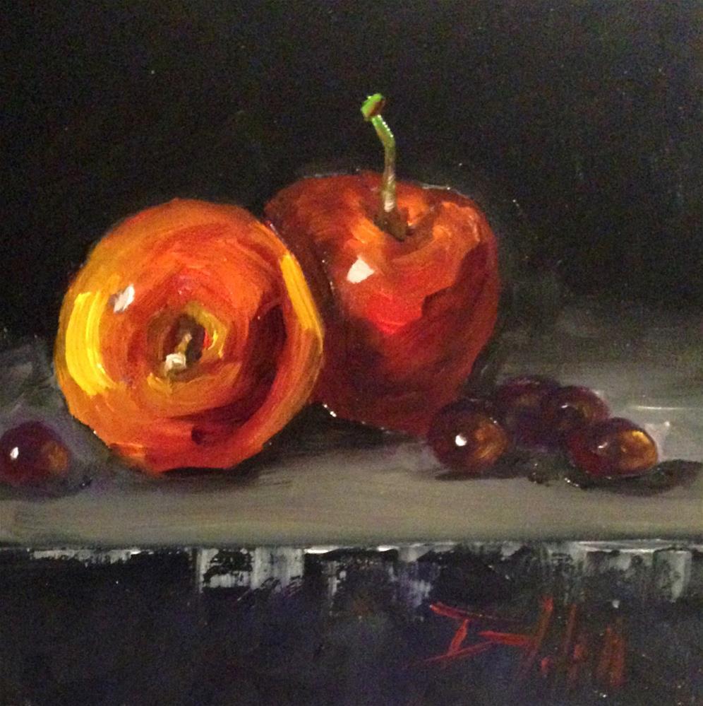 """Fruit Still Life"" original fine art by Delilah Smith"