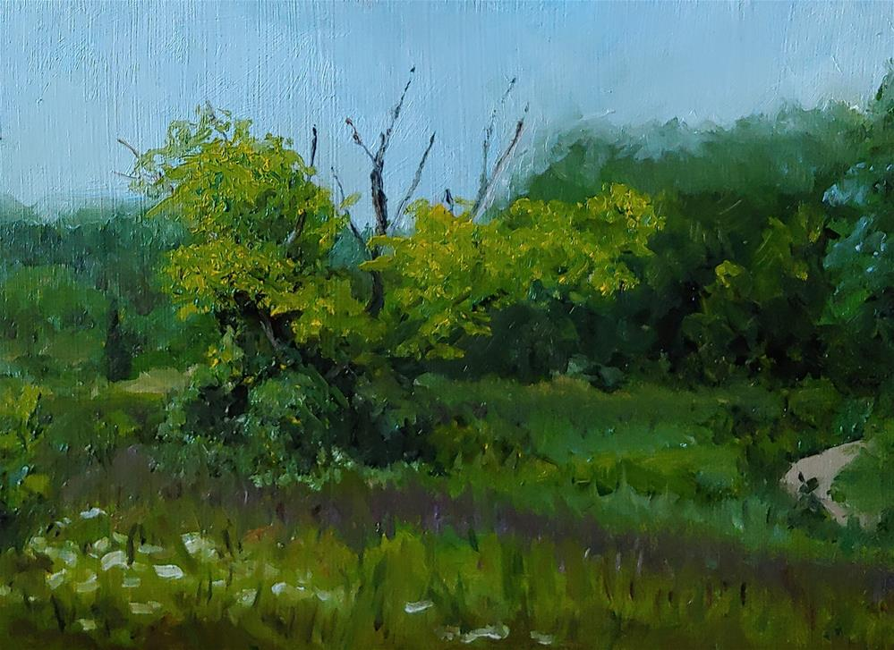 """Near Long Grove, IL"" original fine art by Edward Watson"