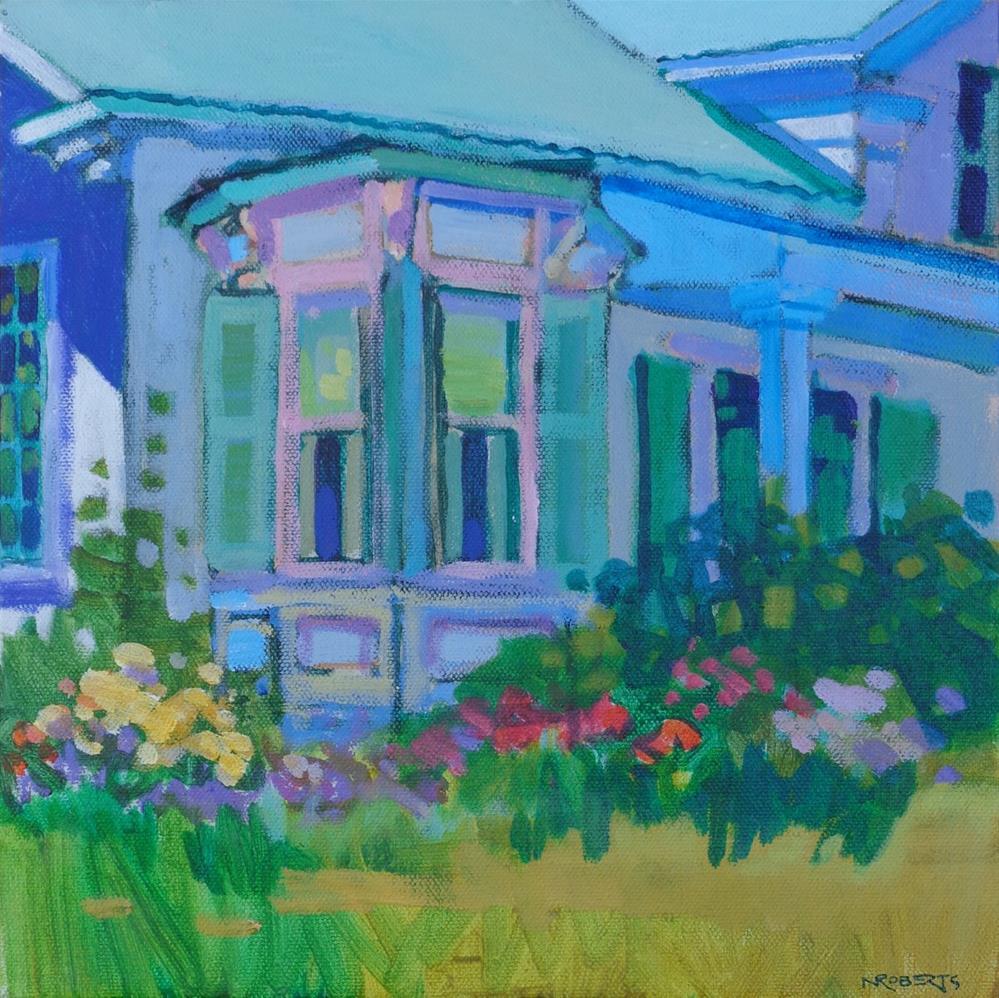 """""""Sutter Creek Inn"""" original fine art by Nancy Roberts"""