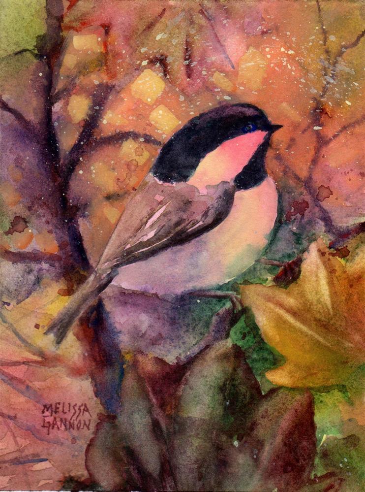 """Tints of Orange"" original fine art by Melissa Gannon"