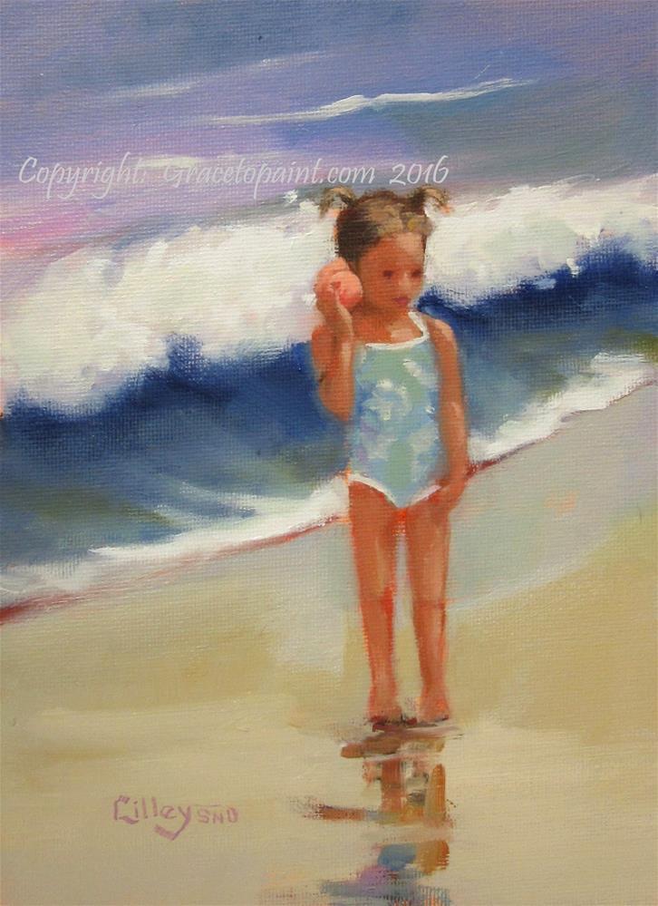 """Ocean Inside"" original fine art by Maresa Lilley"