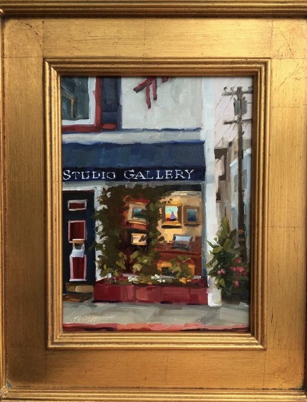 """""""Gallery Glow"""" original fine art by Karen Werner"""