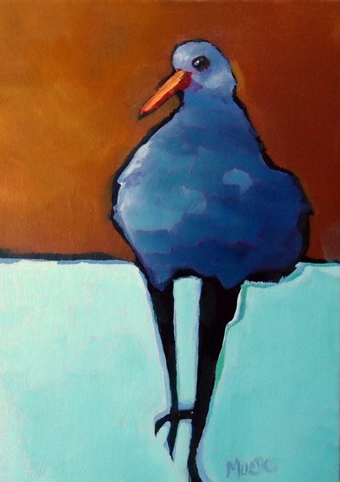 """""""I'll Start"""" original fine art by Laurie Mueller"""