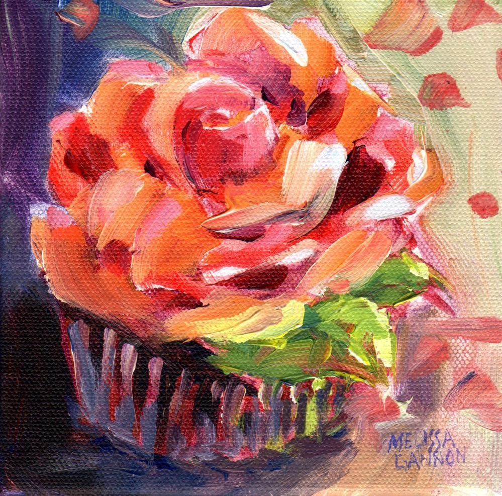 """Cupcake"" original fine art by Melissa Gannon"