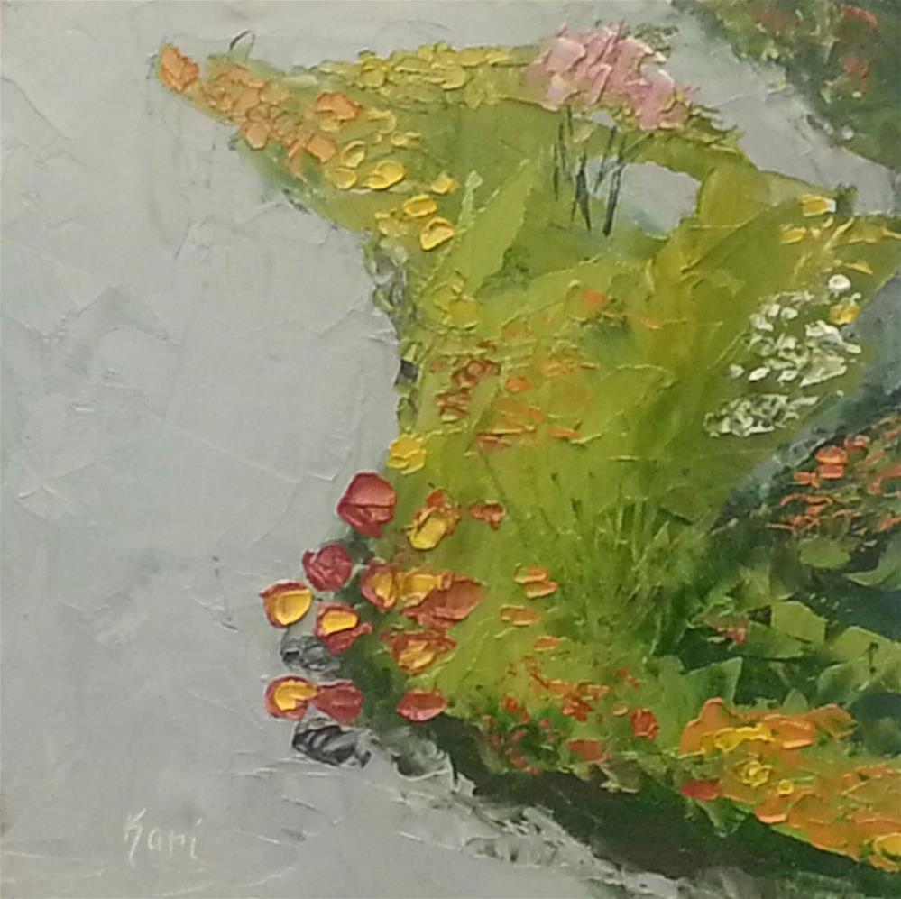 """""""Winding Path"""" original fine art by Kari Melen"""