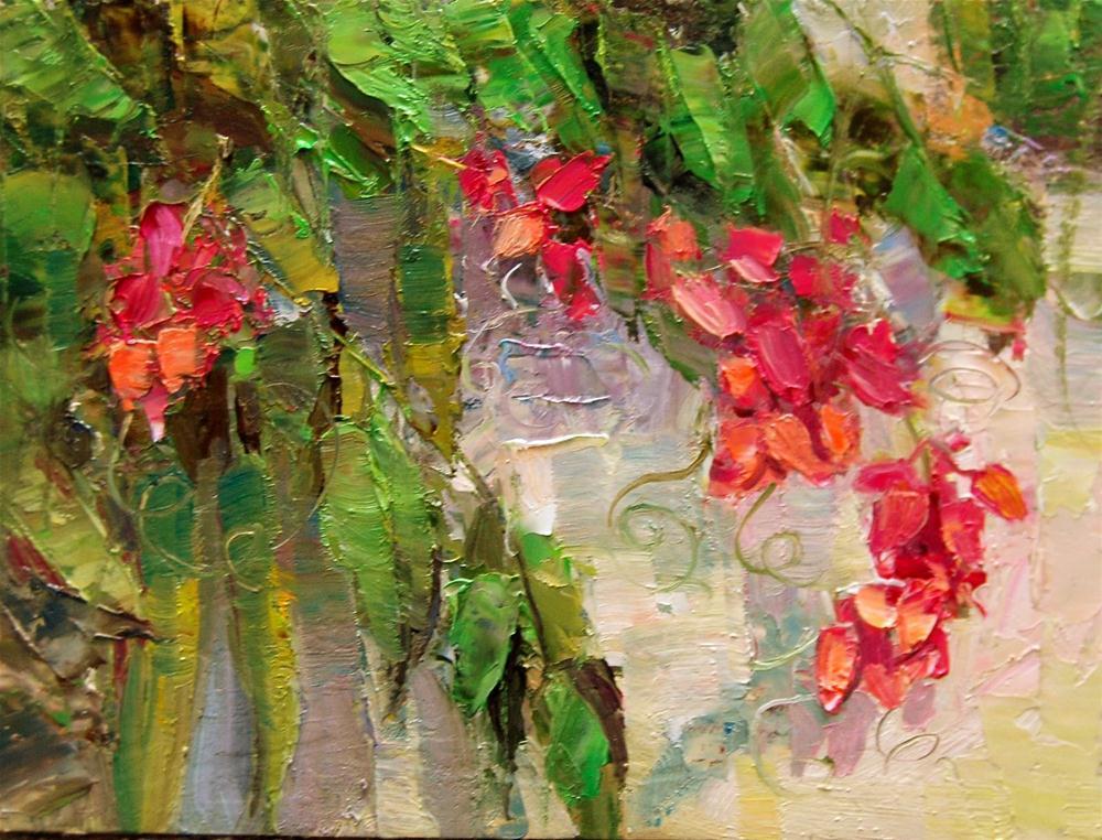 """""""Some Kind of Bean?"""" original fine art by Julie Ford Oliver"""