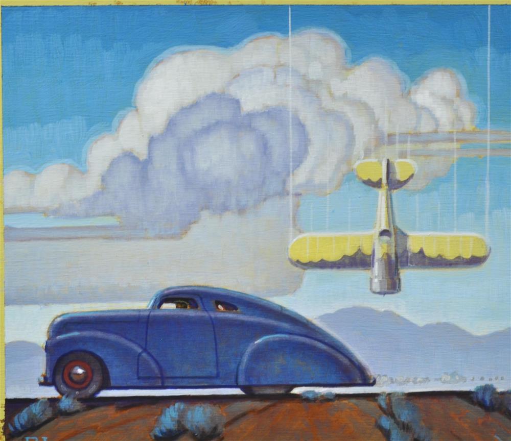 """Witness"" original fine art by Robert LaDuke"