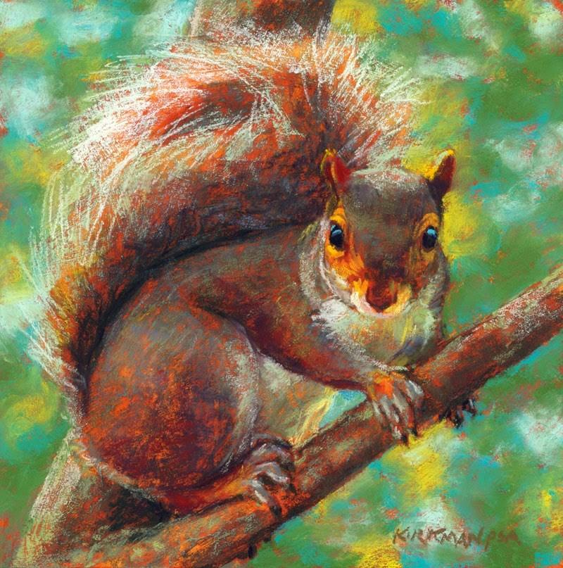 """Nuttin' Honey"" original fine art by Rita Kirkman"