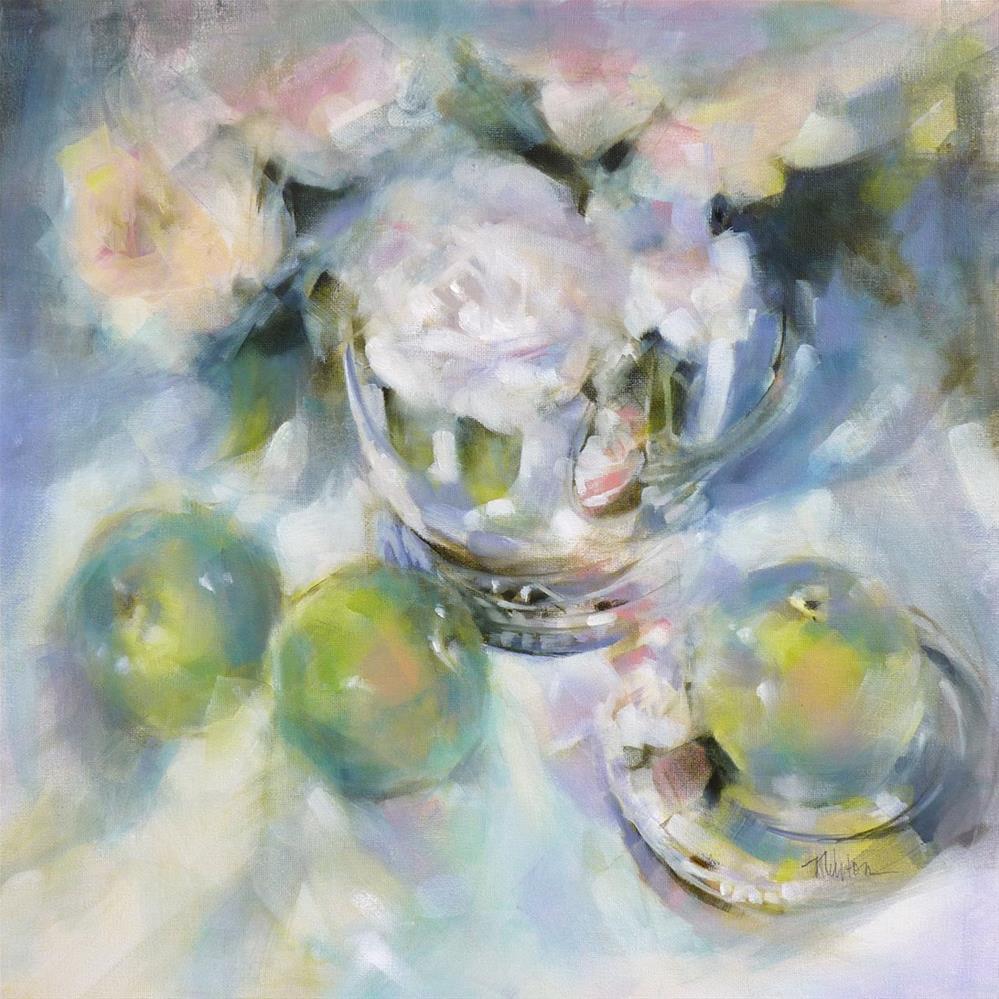 """""""A Fine Romance"""" original fine art by Barbara Benedetti Newton"""
