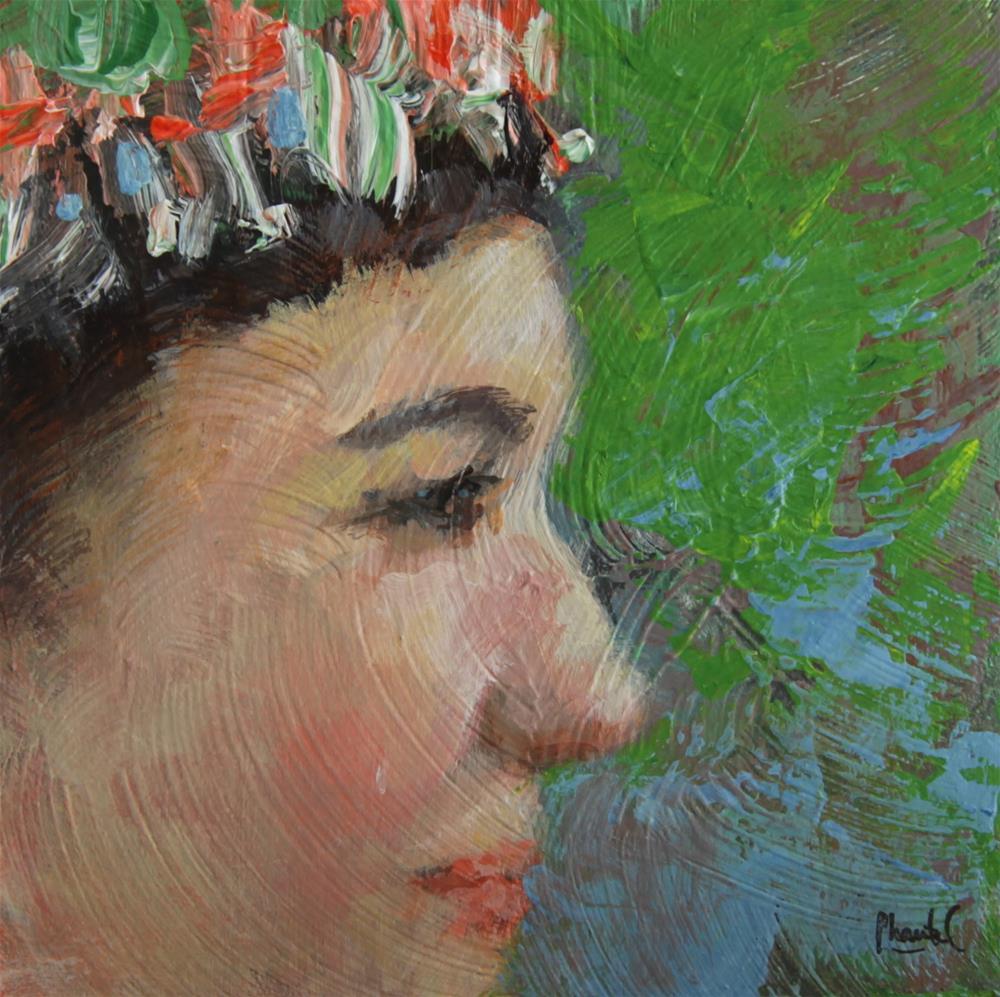 """Looking Ahead"" original fine art by Chantel Barber"