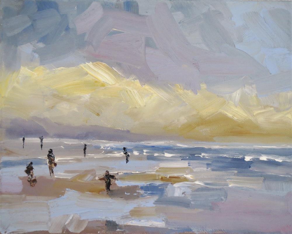 """Sea water smell"" original fine art by Astrid Buchhammer"