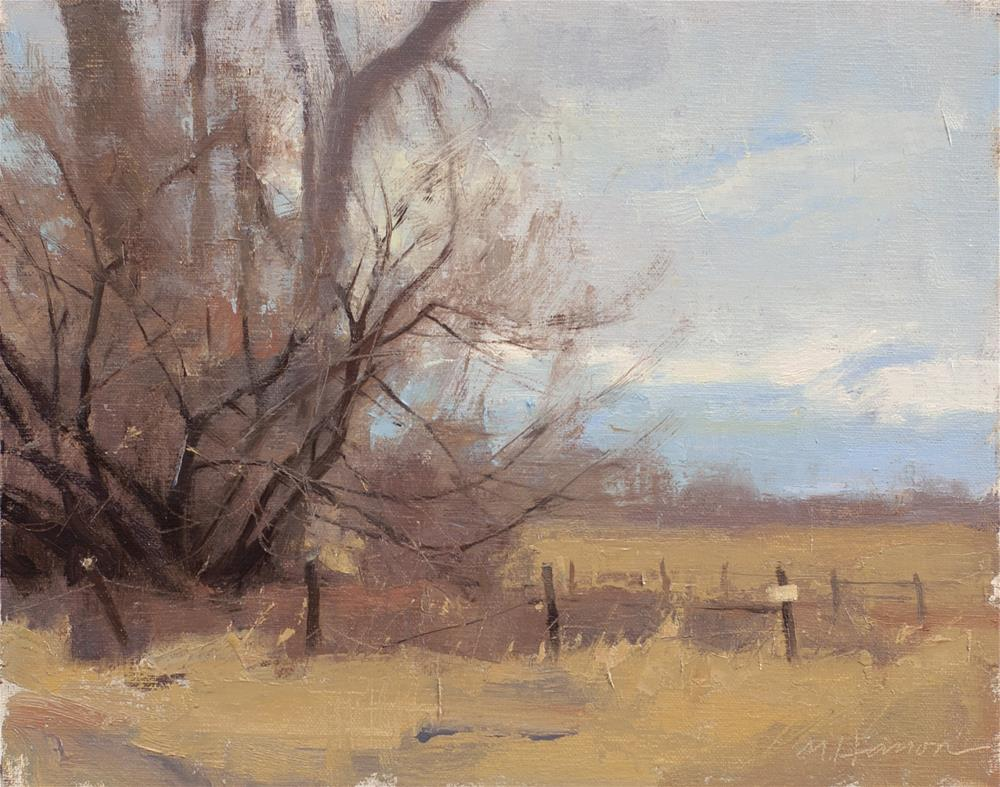 """""""2-22-4 South Boulder Creek 4"""" original fine art by Marc Hanson"""