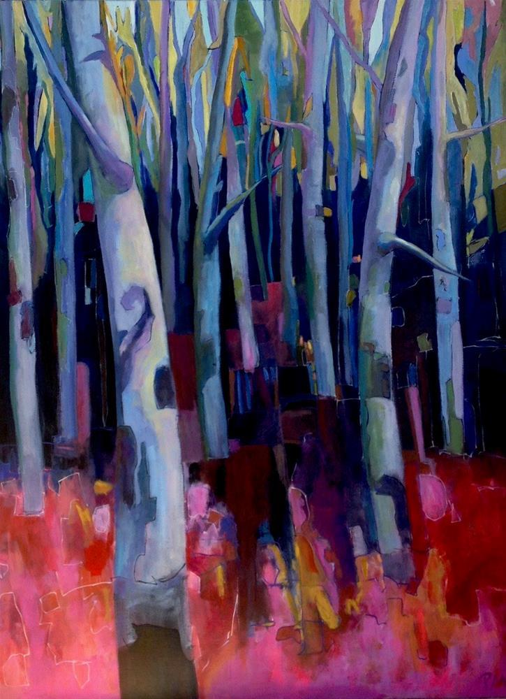 """Theme & Variation: Rockwood 3"" original fine art by Patricia MacDonald"