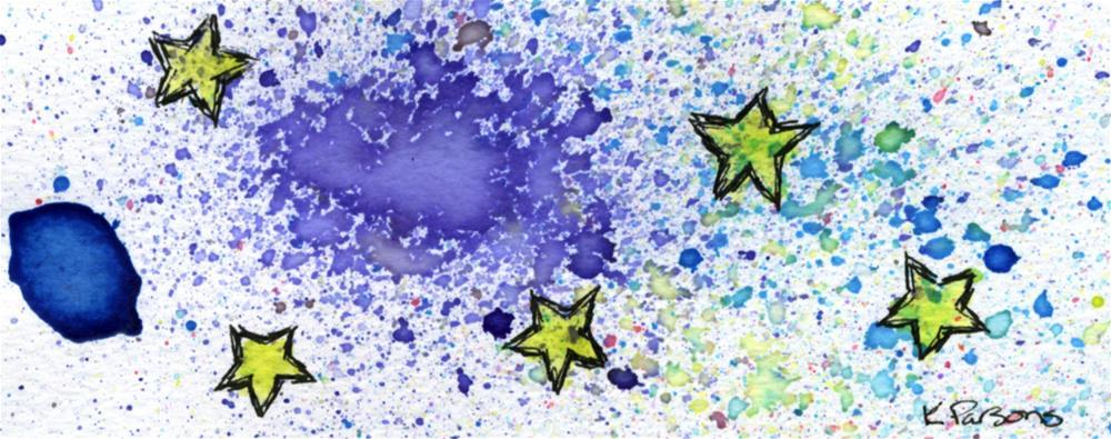 """Galaxy Quest"" original fine art by Kali Parsons"