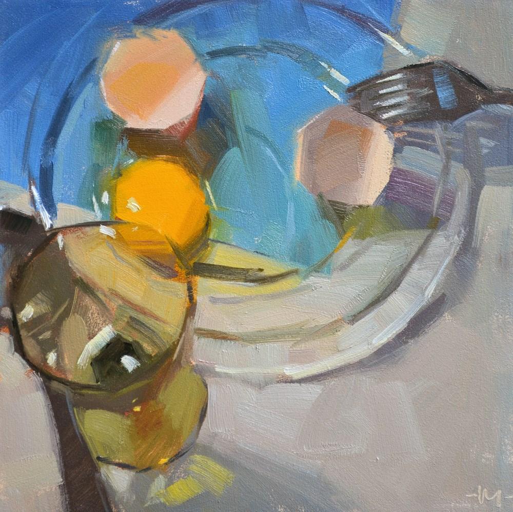 """All Cracked Up"" original fine art by Carol Marine"