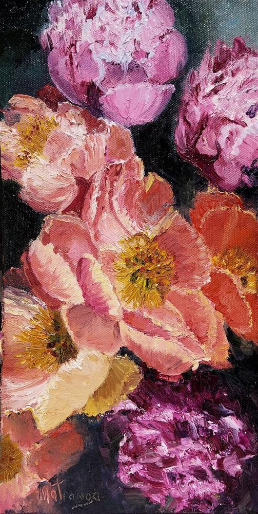 """""""Becoming Blossoms - II"""" original fine art by Patricia Matranga"""