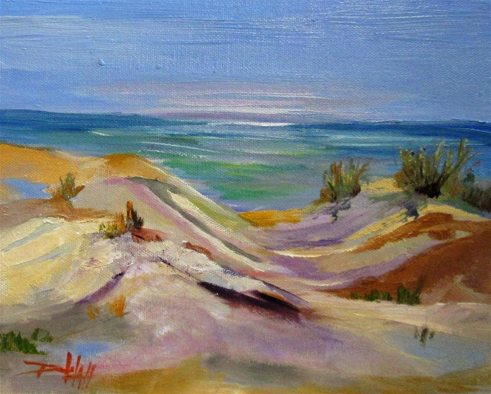 """Dune View"" original fine art by Delilah Smith"