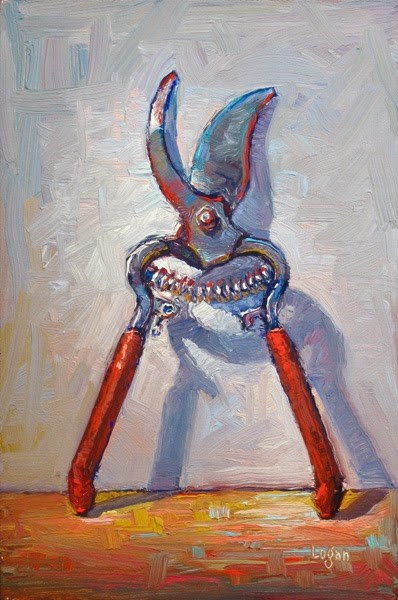 """My Corona Clippers"" original fine art by Raymond Logan"