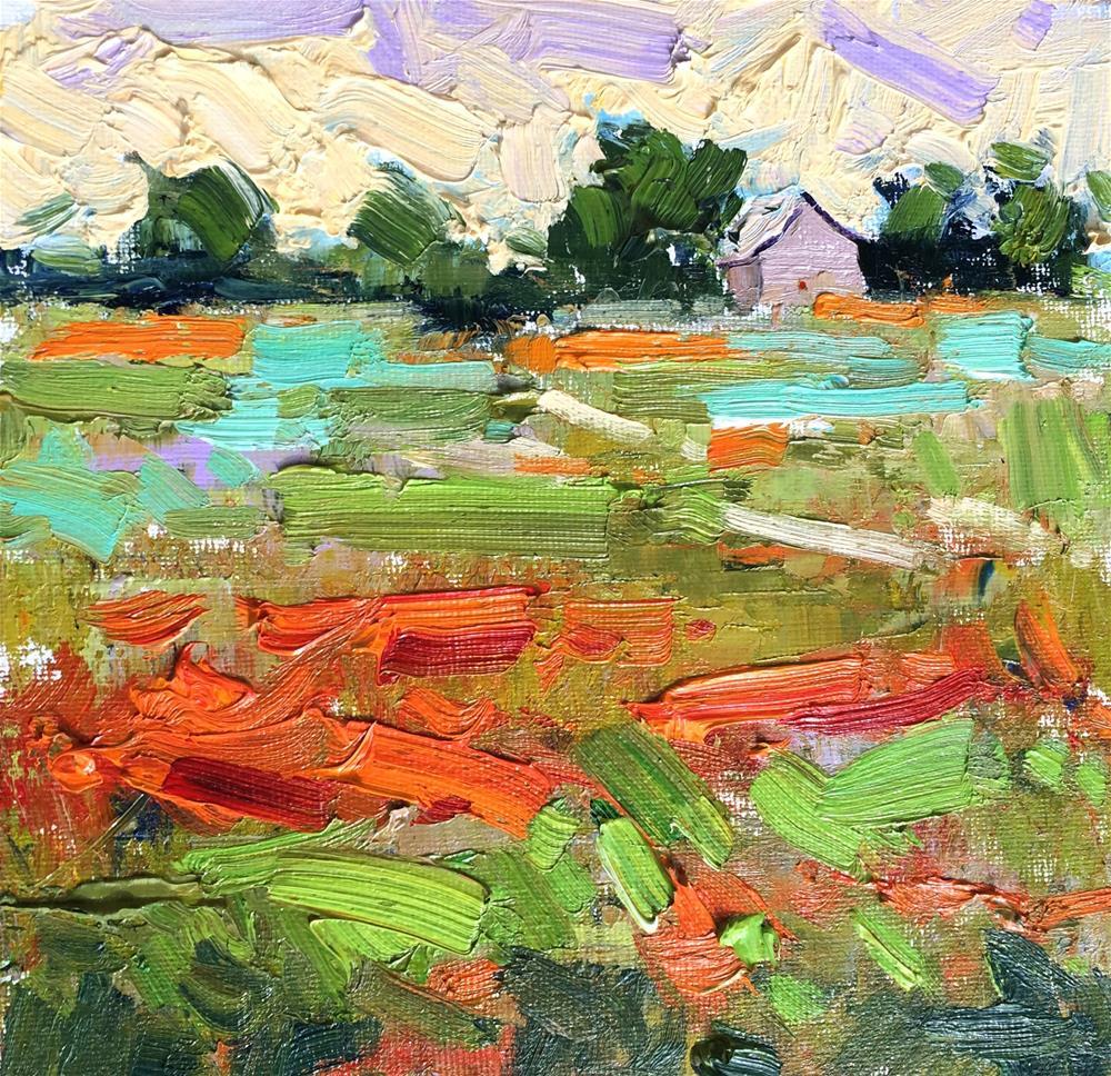 """Texas Wildflowers "" original fine art by Michael Clark"